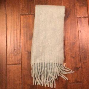 NWT J.Crew scarf with fringe